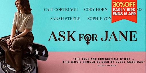 """Ask for Jane"" by Rachel Carey 劇情片| Drama 2018"