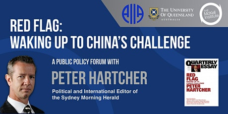 Red Flag: Waking Up to China's Challenges Policy Forum tickets