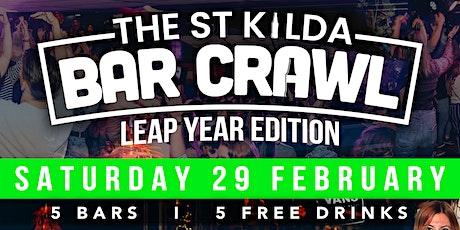 Leap Year Bar Crawl - St Kilda tickets