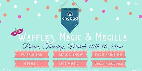 Waffles, Magic & Megilla tickets