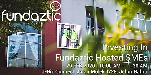 Johor Investment Talk by Fundaztic