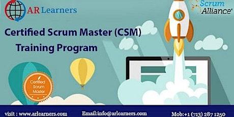 CSM Certification Training in Memphis, TN, USA tickets
