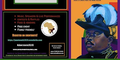 "7th Annual Juneteenth ""Not Yet Uhuru"" Freedom & Music Festival"