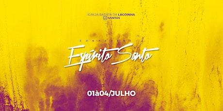 CONFERÊNCIA DO ESPÍRITO SANTO   LAGOINHA SANTOS ingressos