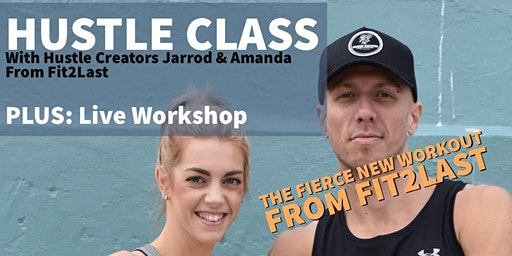 Hustle-The Fierce New Workout Class for ANY body & anybody!