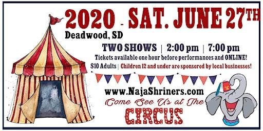 Naja Shrine Circus, June 27, 2020 – Deadwood, SD