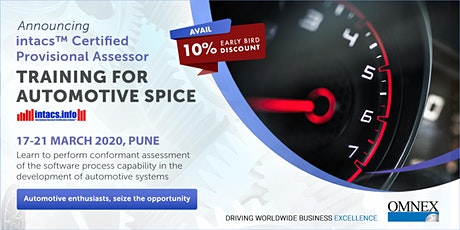 intacs™ - Certified Provisional Assessor (Automotive SPICE) tickets