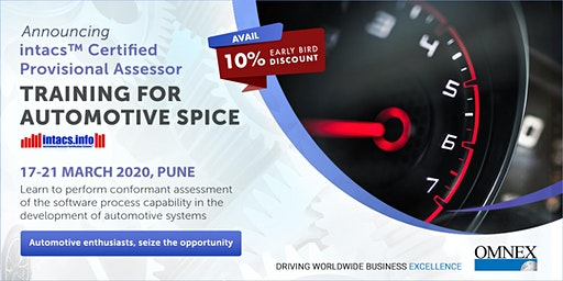 intacs™ - Certified Provisional Assessor (Automotive SPICE)