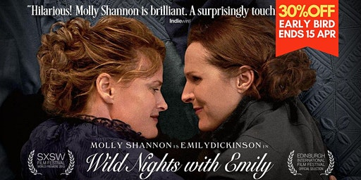 """Wild Nights With Emily"" by Madeleine Olnek 歷史劇 Historical drama 2018"