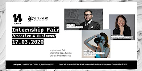 Internship Fair 2020 - Creative & Business tickets