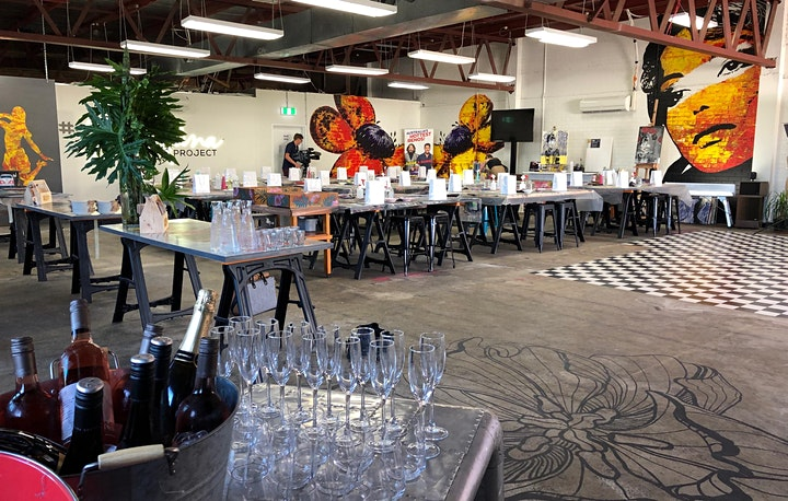 Tiger Paint and Sip Party  22.8.20 image