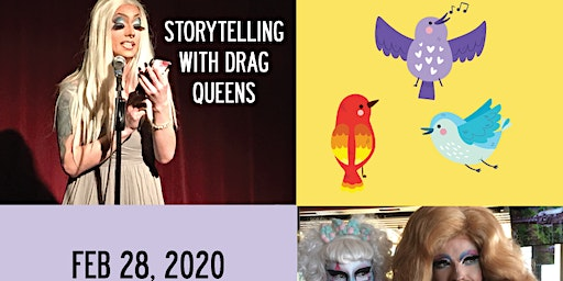 Storytelling with Drag Queens for Adults - Orinthology