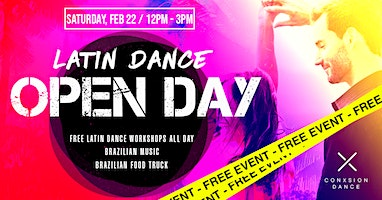Latin Dance Open Day - FREE EVENT