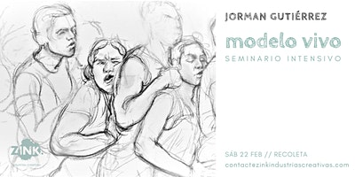 Modelo vivo // Seminario intensivo, por Jorman Gutiérrez.