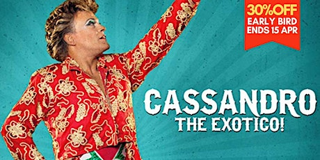 """Cassandro, The Exotico!"" by  Marie Losier 紀錄⽚ Documentary 2018 tickets"