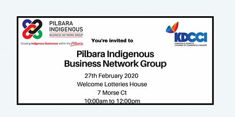 Pilbara Indigenous Business Network Group ( PIBNG) tickets