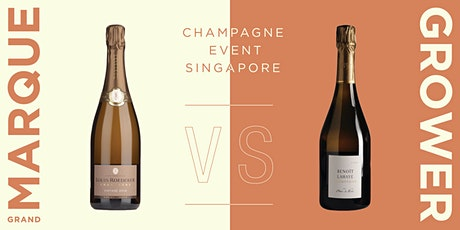 Grand Marque Vs. Grower Champagne tickets