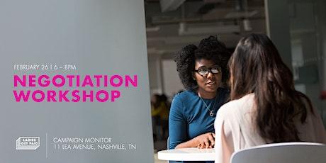 Negotiation Workshop | February 2020 (Nashville) tickets