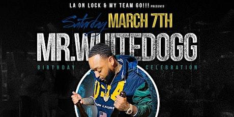 Underground Warehouse Party   Mr. WhiteDogg Birthday Celebration tickets