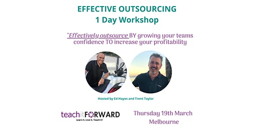 Effective Outsourcing - 1 Day Workshop - 19th March 2020