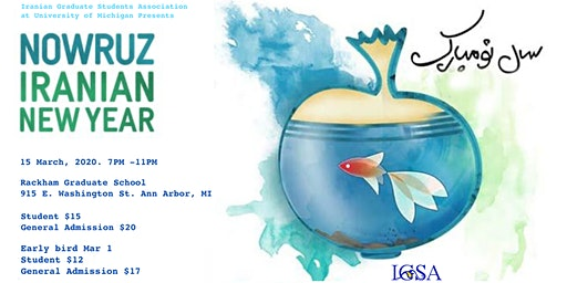 IGSA Nowruz, Iranian New Year Celebration