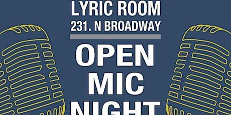 LYRIC ROOM OPEN MIC w/ host JACK BESAW tickets