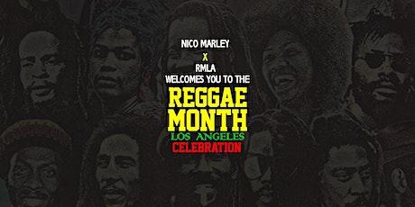 Reggae Month Celebration = LA tickets