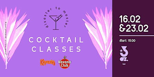 DISASTER TO MASTER | COCKTAIL CLASSES 4.5 (КОКТЕЙЛИ ЗА ПЛАНИНА)