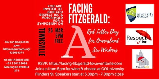 Facing Fitzgerald: A Red Letter Day for Qld Sex Workers - Townsville CQU