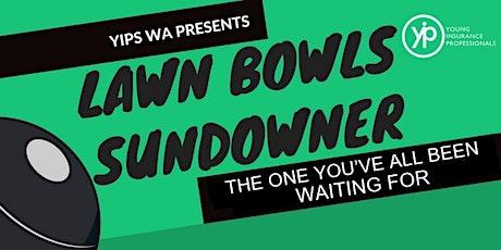 YIPs WA Lawn Bowls 2020 Sundowner tickets