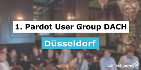 Pardot DACH User Group, Treffen #7, Düsseldorf Tickets