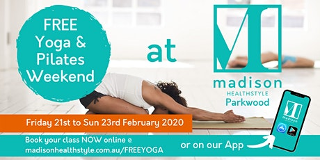 FREE Yoga & Pilates weekend tickets