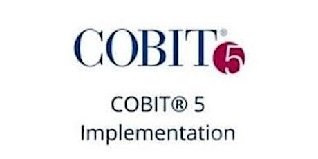 COBIT 5 Implementation 3 Days Training in Stuttgart Tickets