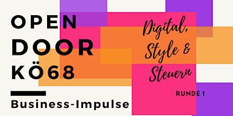 Open Door im KÖ68 - Digitale Business Impulse - Volume 1 Tickets