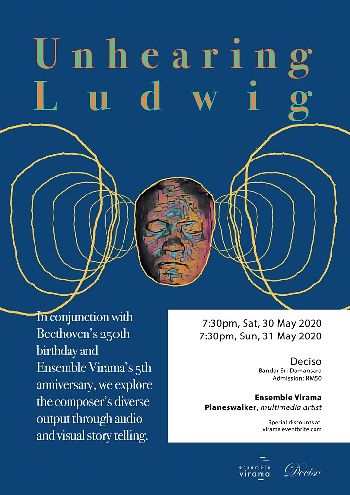 Unhearing Ludwig with Ensemble Virama image