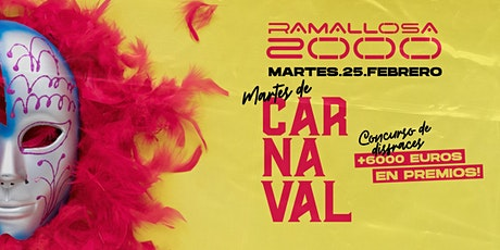 Martes de Carnaval en Ramallosa 2000 bilhetes
