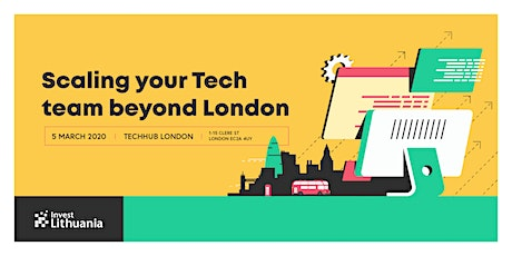 Scaling your Tech team beyond London tickets