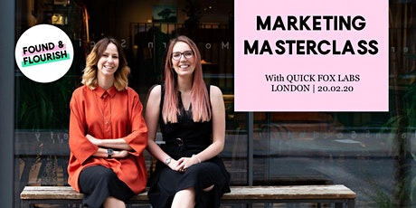 MASTERCLASS | learn how to market your business and attract your ideal clients | London tickets