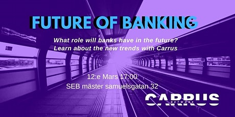 Future of banking biljetter