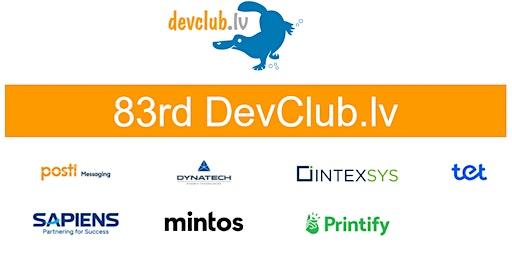 Oracle focused 83rd Devclub.lv