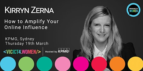 Importance of Women 19th March : How to Amplify Your Online Influence tickets