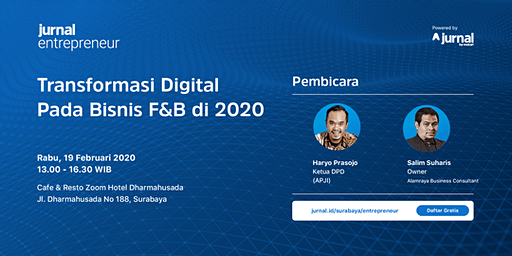 Transformasi Digital Pada Bisnis F&B di 2020