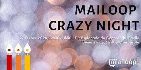 Mailoop Crazy Night billets