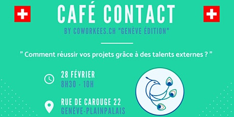 Café contact by Coworkees billets