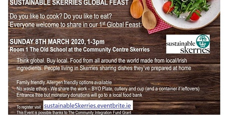 Sustainable Skerries Global Feast tickets