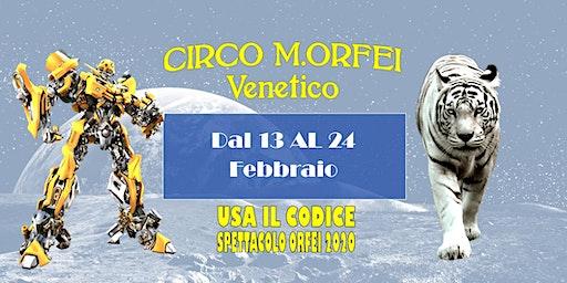 Il Grande Circo M.Orfei a Venetico fino al 24 febbraio