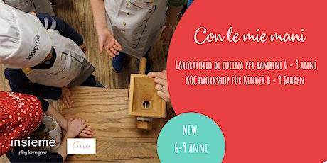 Kochkurs für Kinder (6-9 J.) - La pasta fresca Tickets