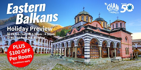 Eastern Balkans Holiday Preview  tickets