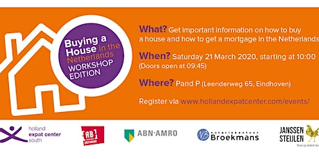 Buying a House in the Netherlands: 13th Edition tickets