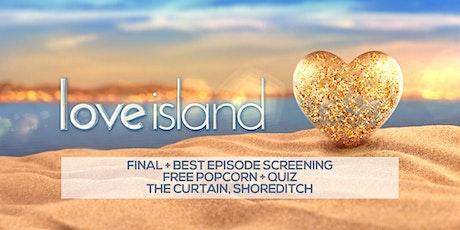 Love Island Final Cinema Screening + Quiz tickets
